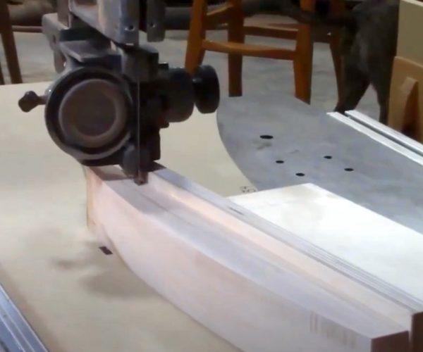 Bandsawing Curve Techniques